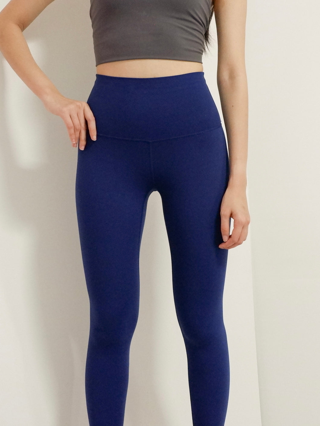 Skinless Sport Legging in Persian Blue
