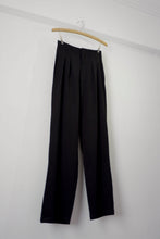 Load image into Gallery viewer, High Waist Suit Pants - Black