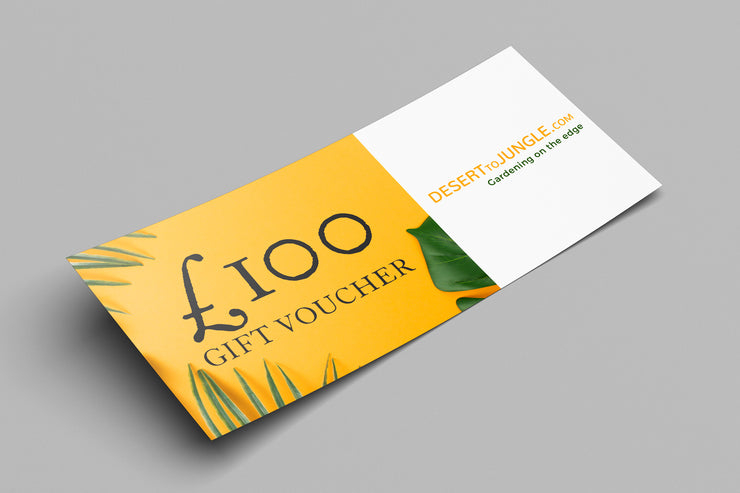 Desert to Jungle Gift Voucher
