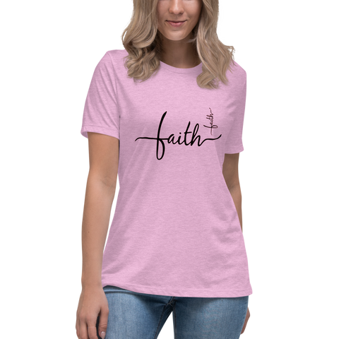 """Faith"" Women's Relaxed T-Shirt"