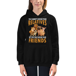 """ Choose your relatives"" Kids Hoodie #132"