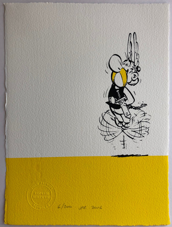 ASTERIX AND OOR WULLIE: TWO NEW MEDIUM FORMAT SCREENPRINTS