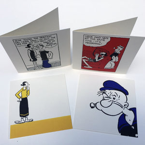 New: Popeye greeting cards