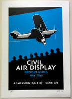Brooklands Air Show Poster