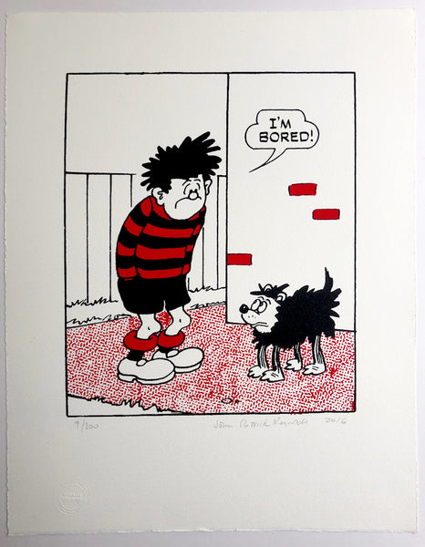 Dennis The Menace Says I'm Bored