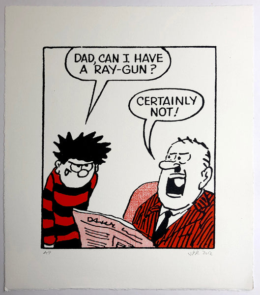 Dennis The Menace Wants A Raygun