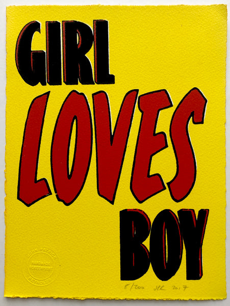 Girl Loves Boy