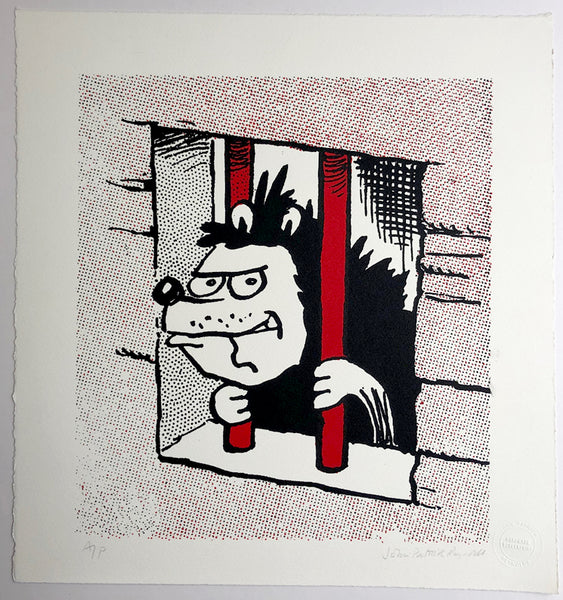 Gnasher Behind Bars