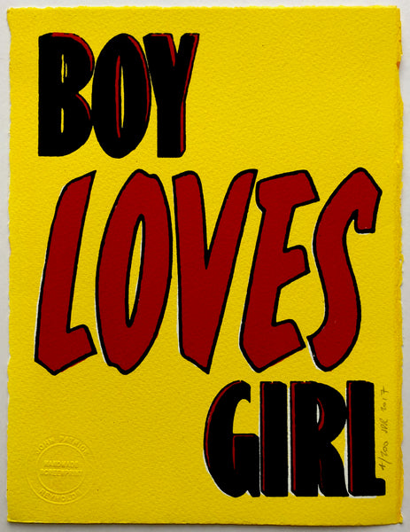 Boy Loves Girl