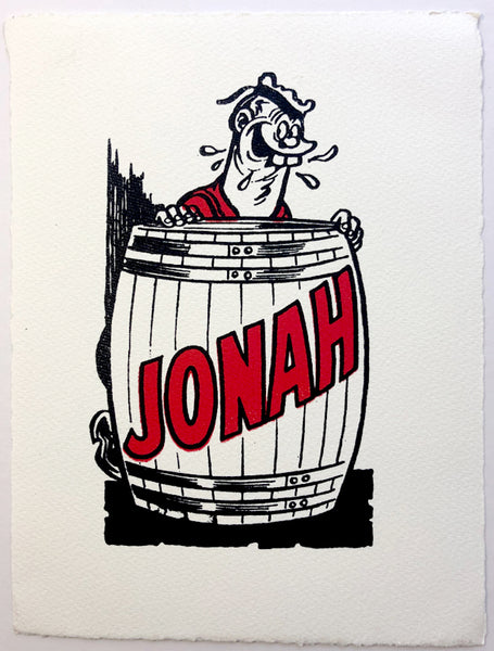 Jonah In His Barrel