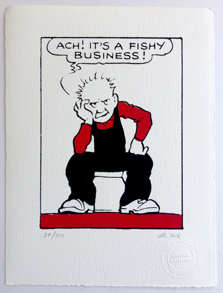 Oor Wullie says: It's a fishy business