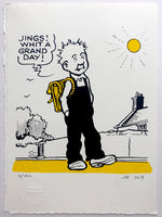 Oor Wullie says: It's a grand day!