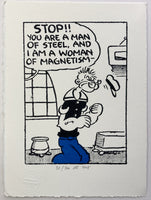 Popeye And The Woman Of Magnetism