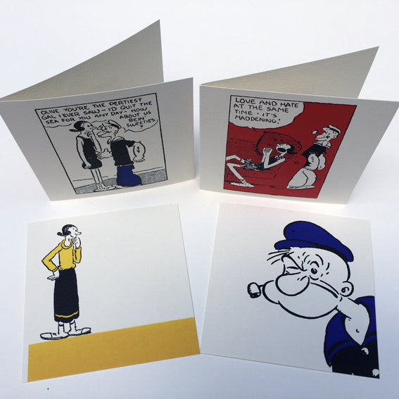 Popeye Greetings Cards