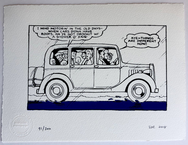 The Broons Go On A Car Ride