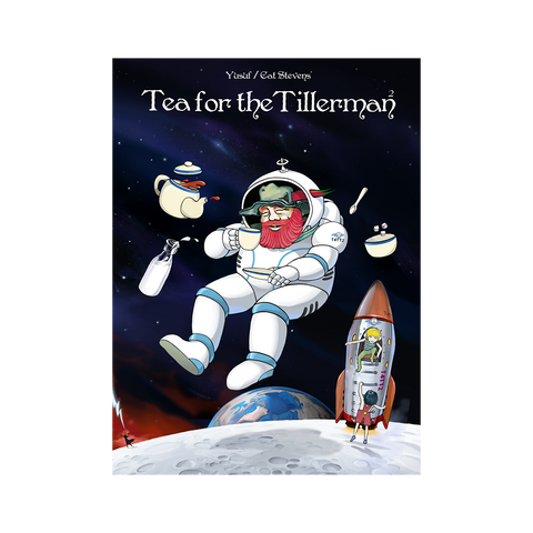 Tea For the Tillerman 2 Glow in the Dark Poster