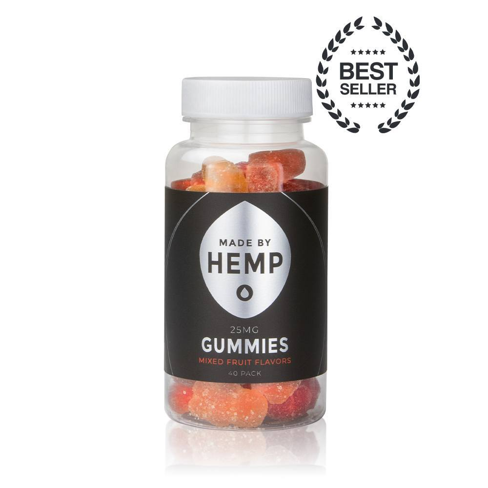 Made By Hemp – CBD Gummies 40-Pack (25mg CBD ea.)