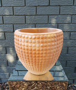 Motyaj Terracotta Spotted Egg Pot Medium (32x31cm)