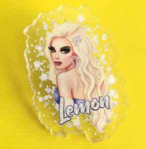 Lemon Glow Job pin