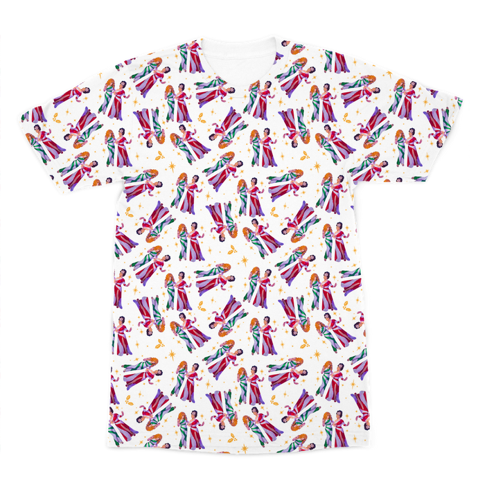Jinkx & DeLa All Over Print Tee