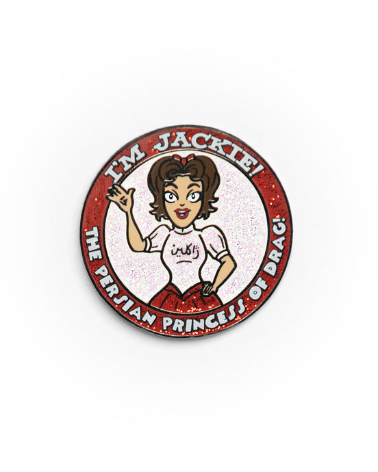 Jackie Cox Entrance Look Enamel Pin