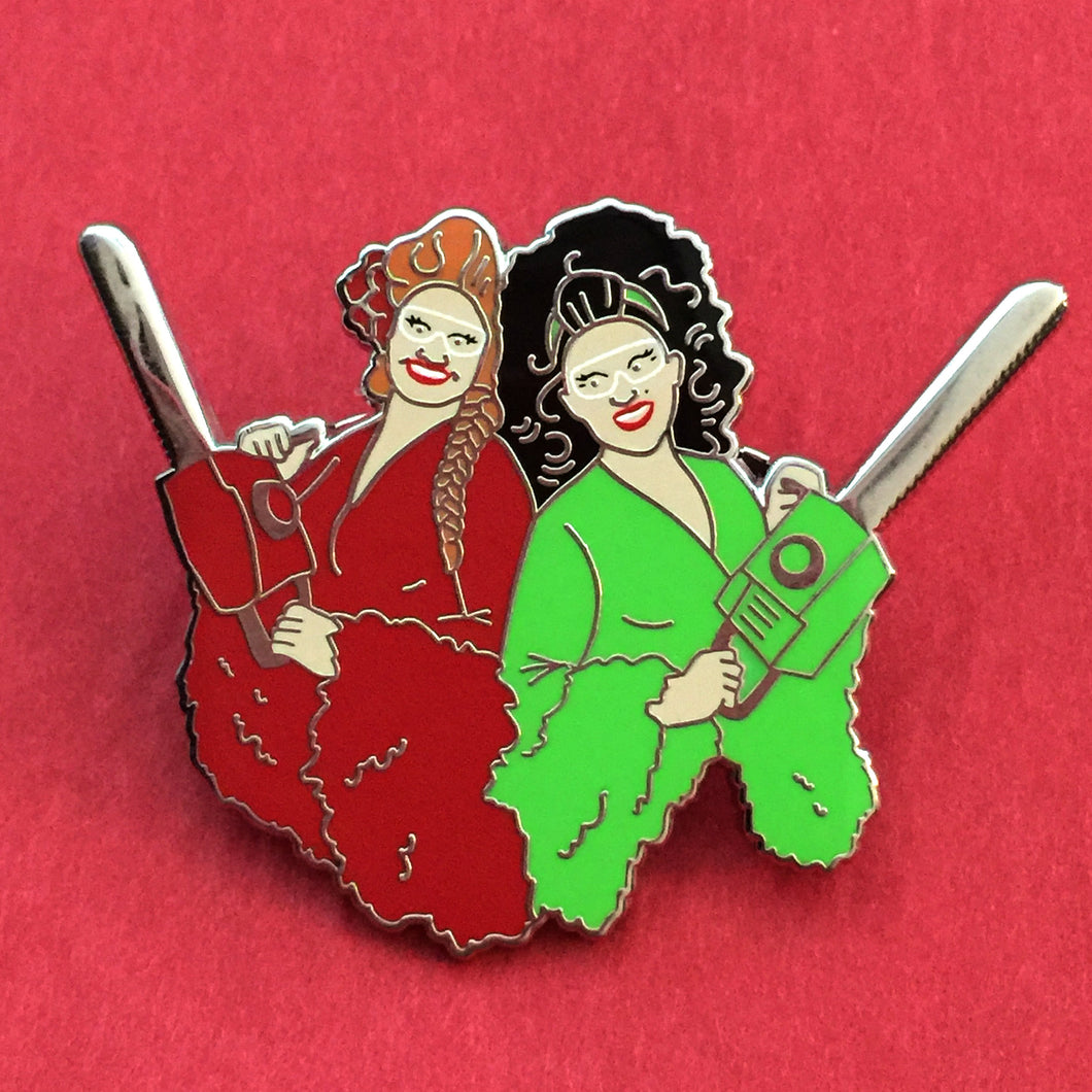 Traditional Christmas Enamel Pin