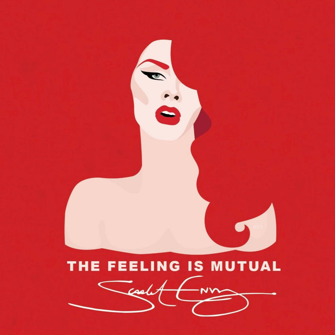 Scarlet Envy's 'Feeling Is Mutual' sticker