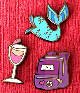 THE STEPHANIE'S CHILD PIN TRIO
