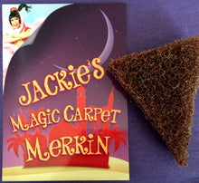 Load image into Gallery viewer, Magic Carpet Merkin with signed postcard