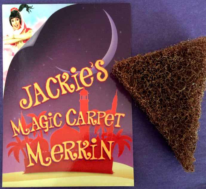 Magic Carpet Merkin with signed postcard