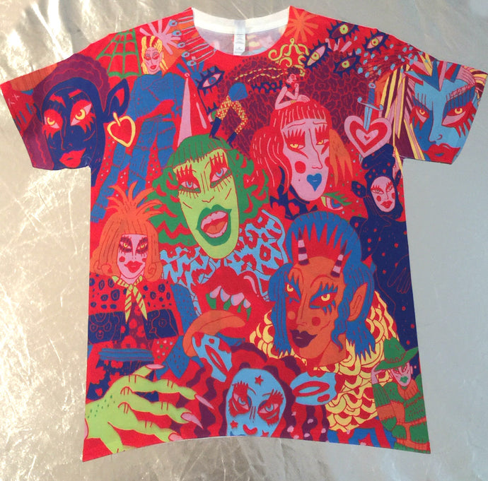 Limited Edition Crystal-All-Over Tee PRE-ORDER