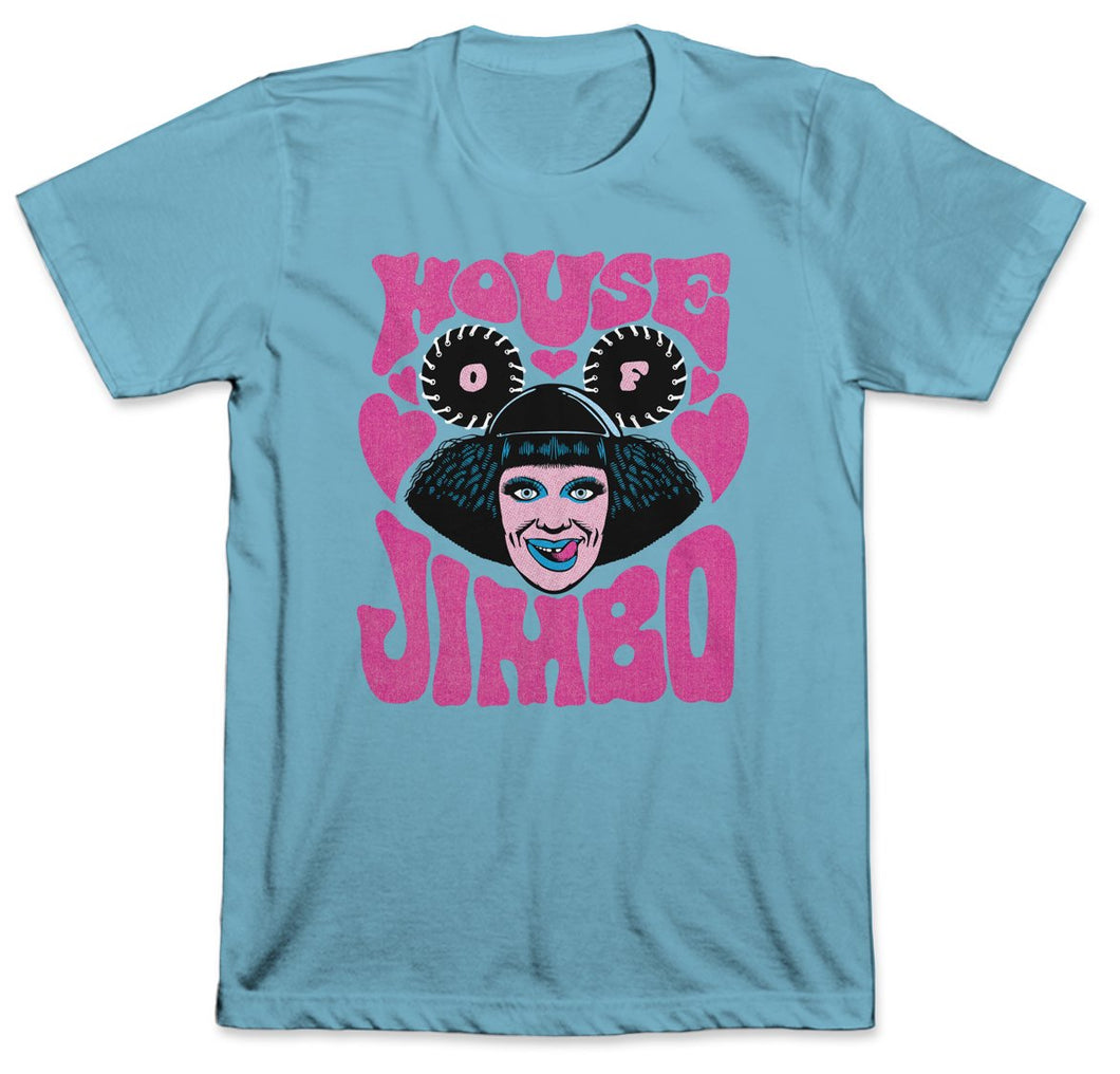 House of JIMBO Tee (Ocean Blue)