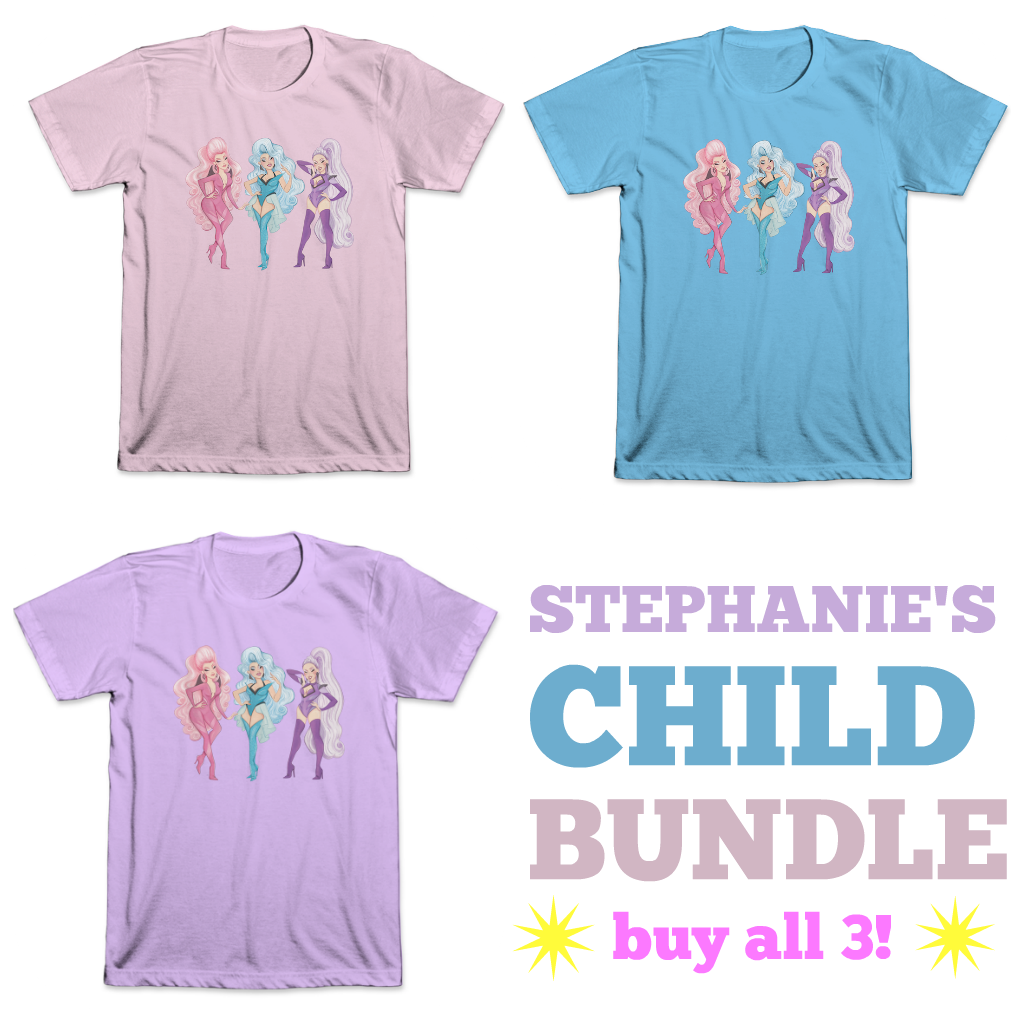 THE DOLLS 3 Tee Bundle  (PRE-ORDER)
