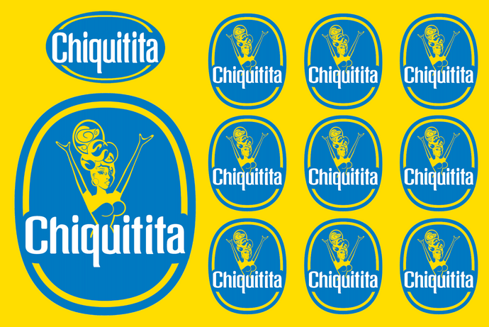 Chiquitita sticker sheet