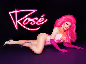 THE ROSÉ ALL NIGHT POSTER