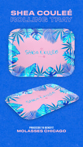Limited Edition Shea Couleé x Dispensary33 Rolling Trays