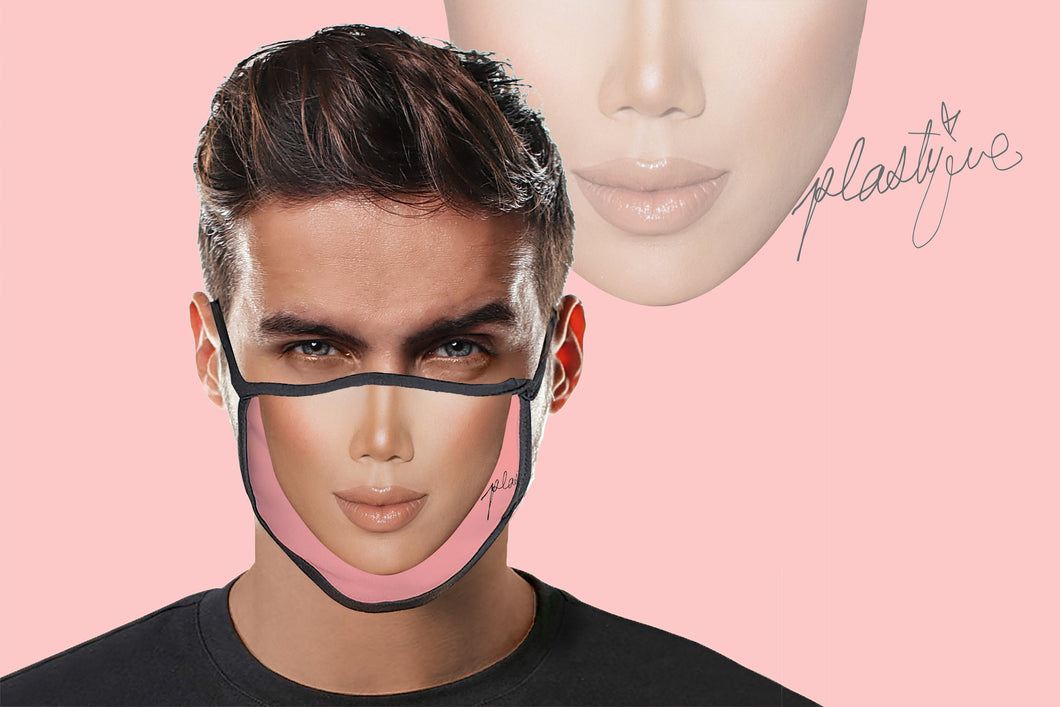 Plastique face mask