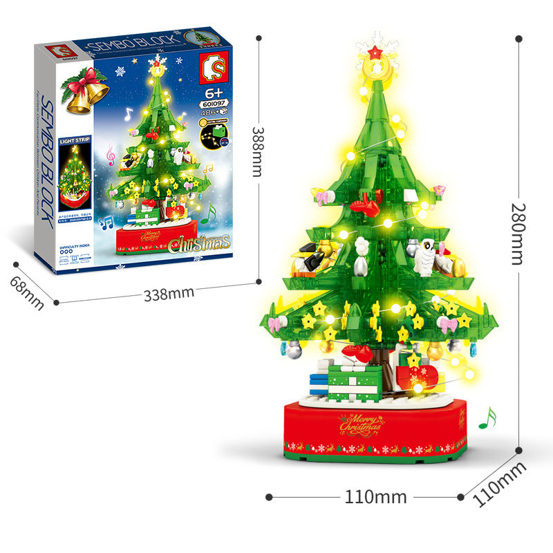 Christmas Tree Building Blocks