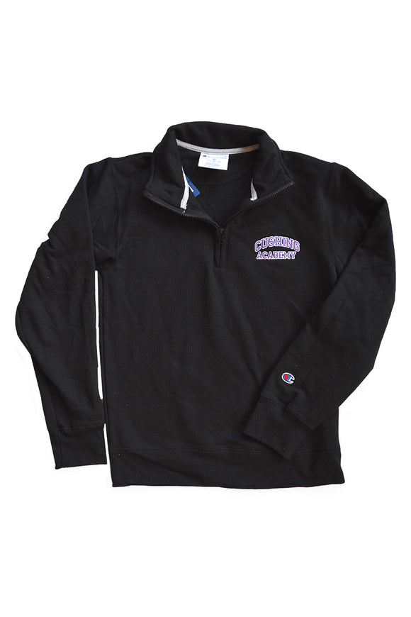Champion 1/4 Zip Sweatshirt Black