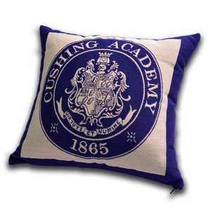Cushing Academy Pillow