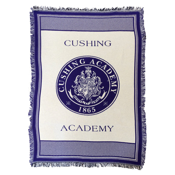 Cushing Academy Stadium Blanket