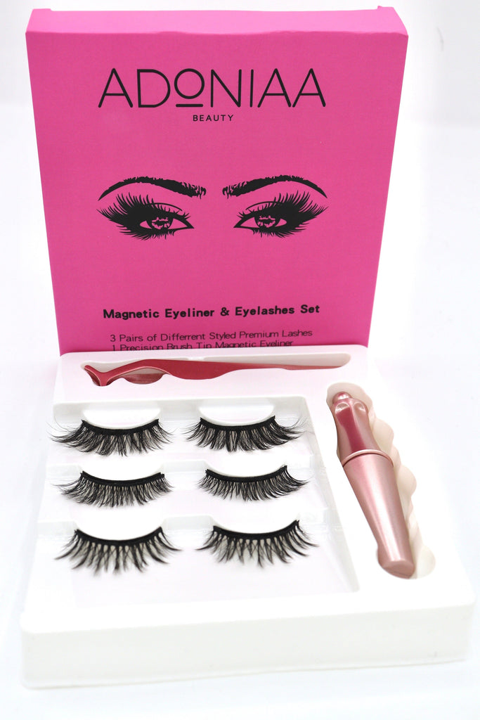 Magnetic Eyeliner & Eyelash Set