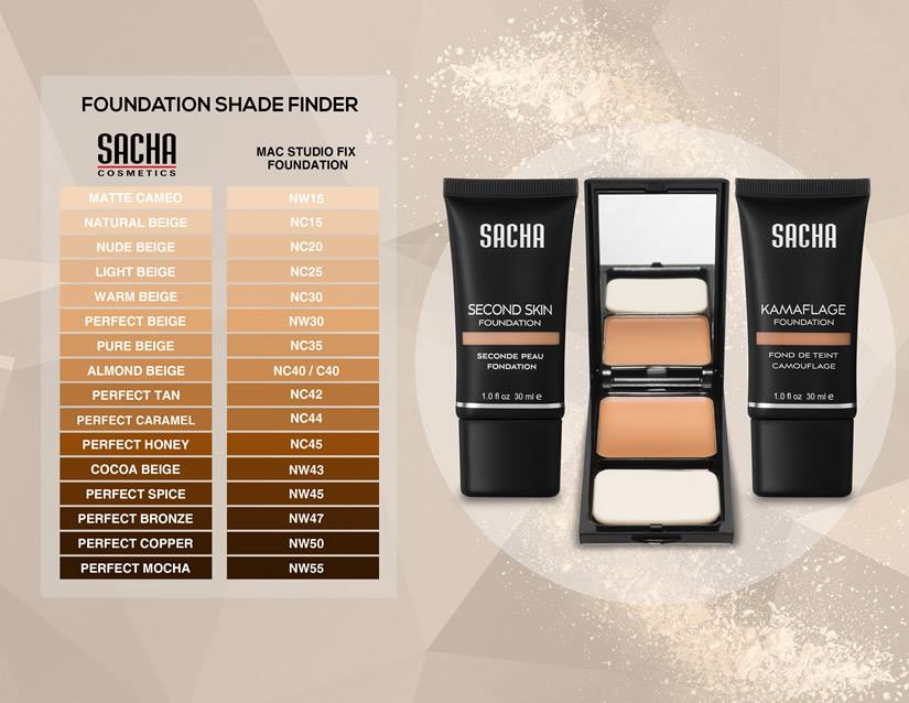 Second Skin Liquid Foundation - Oily To Combination