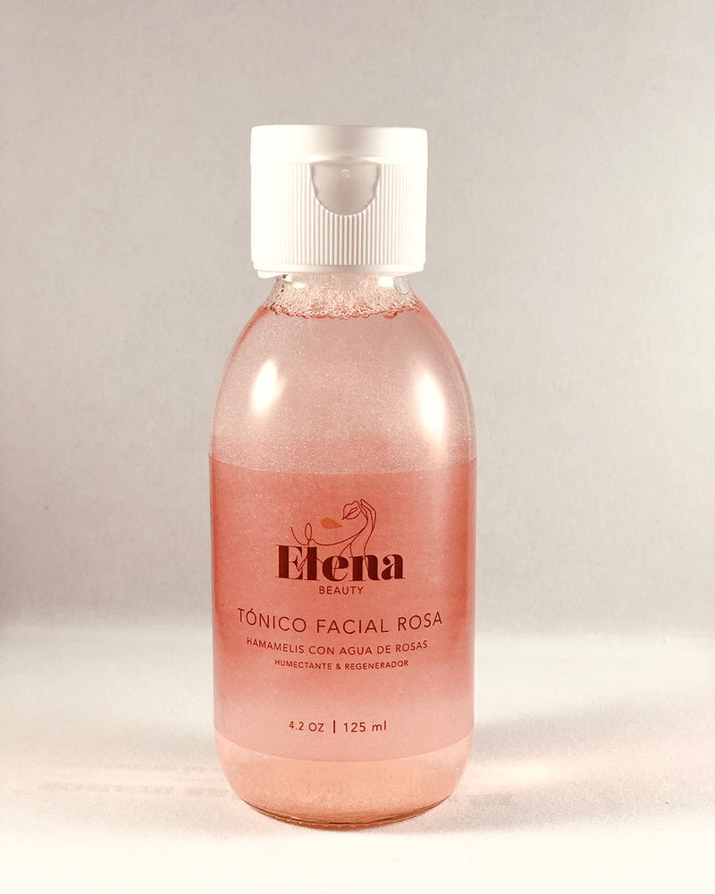 Tónico Facial Rosa de Elena Beauty