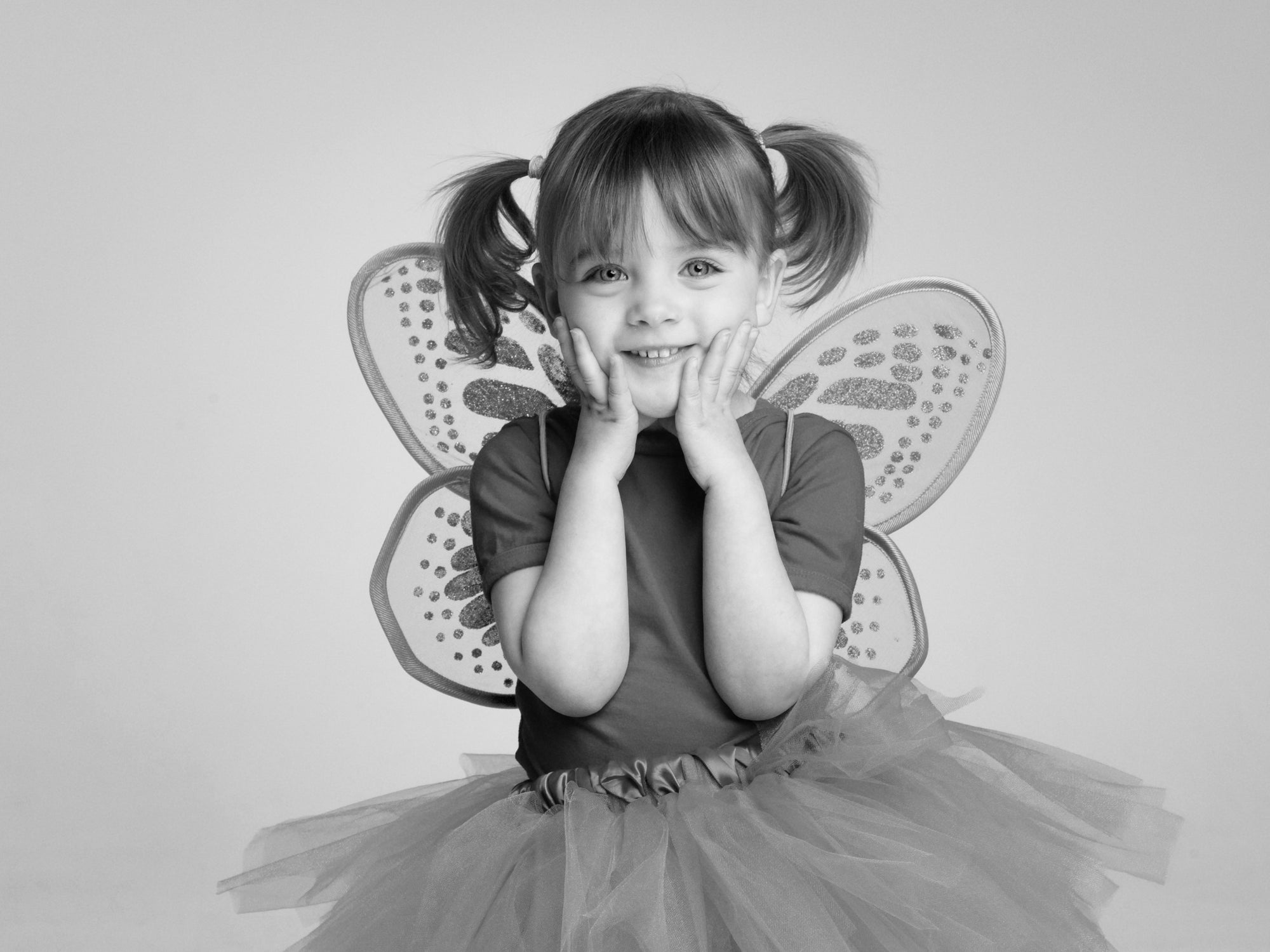 Child in fairy costume by PHOTOGENIC Dalkey