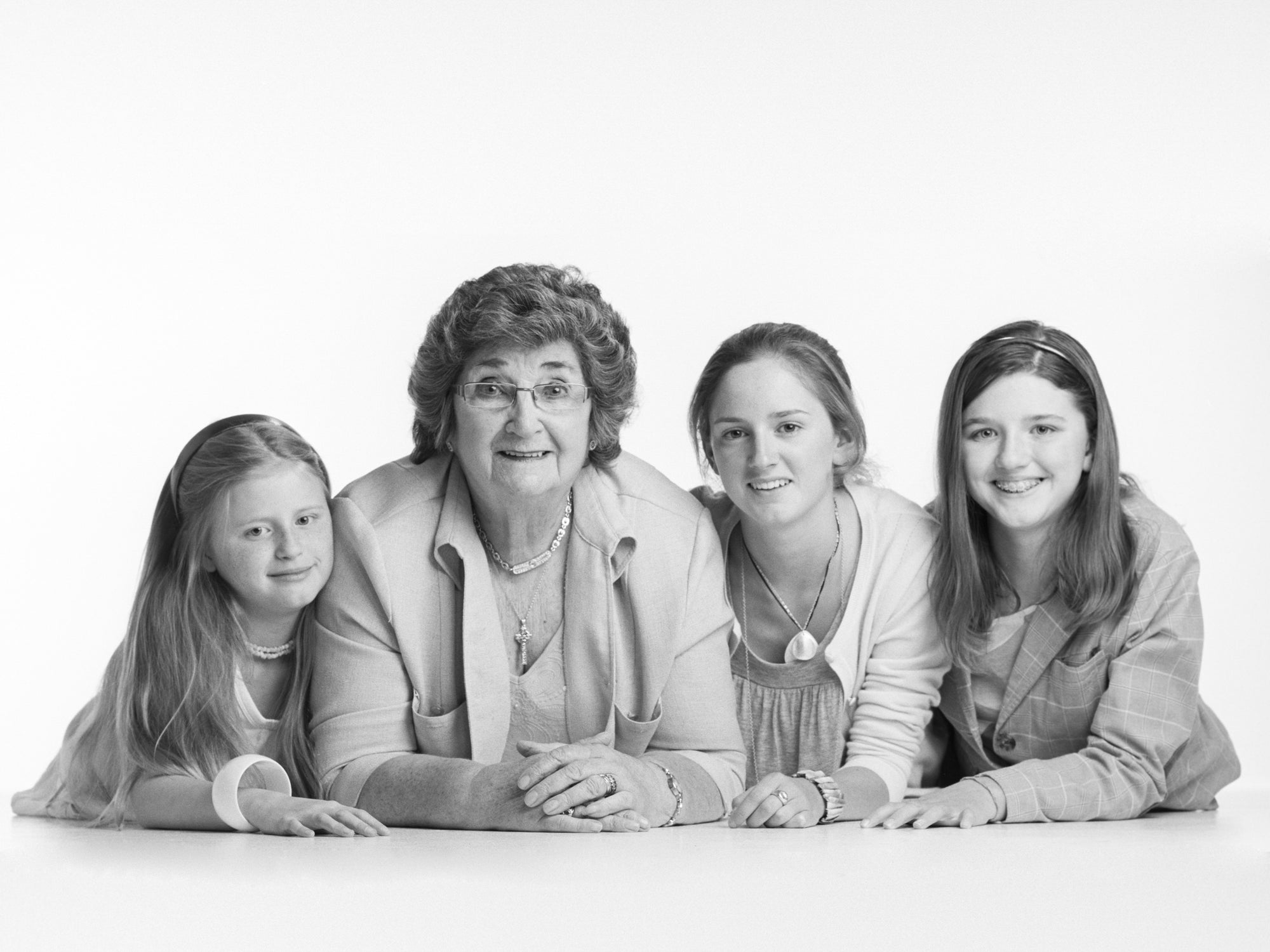 Grandmother & grandchildren's portrait by PHOTOGENIC Dalkey
