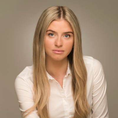Business Profile portrait of a young woman by PHOTOGENIC Dalkey