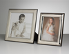 Sterling Silver Frame & Gift Portrait - ideal for one or two people.