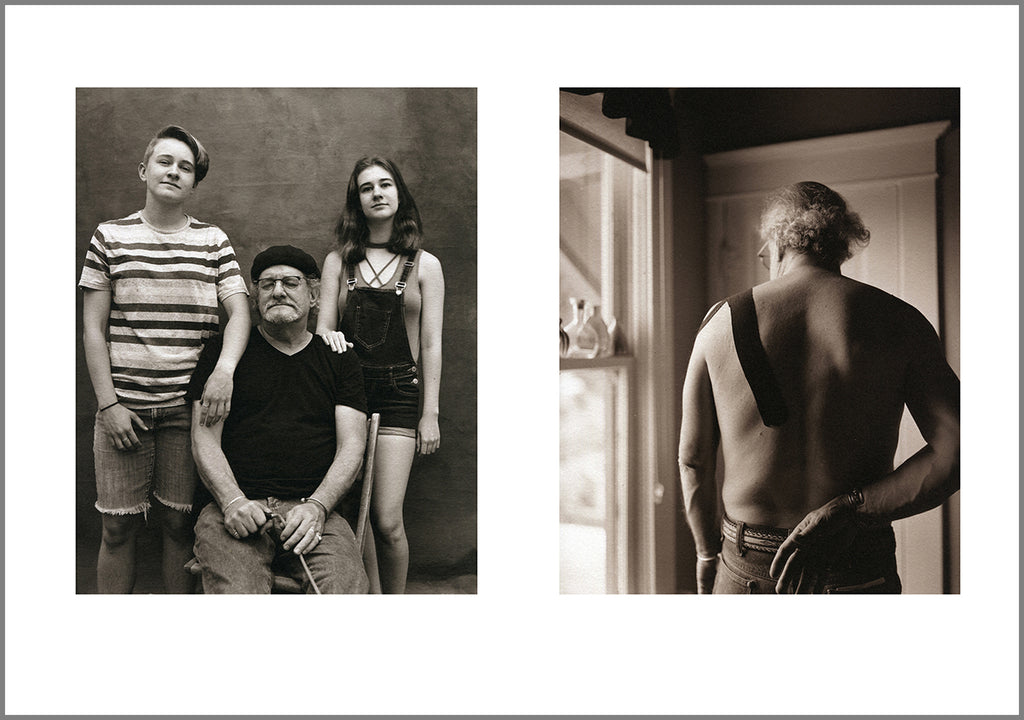 As we get older - My shoulder - diptych from Memory of Never