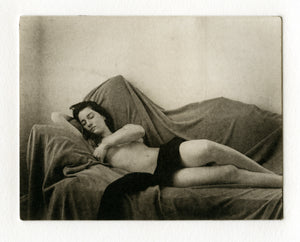 Polymer gravure print - C. reclined